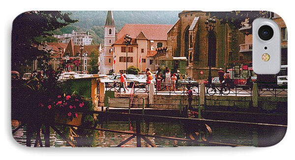 Annecy France Village Scene IPhone Case
