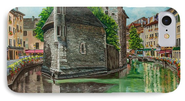 Annecy-the Venice Of France Phone Case by Charlotte Blanchard