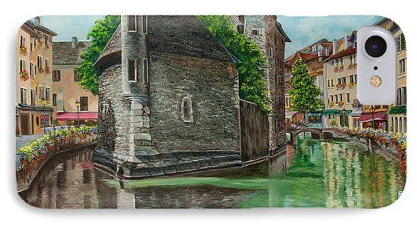 Annecy-the Venice Of France IPhone Case