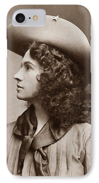 Annie Oakley - Little Sure Shot IPhone Case by War Is Hell Store