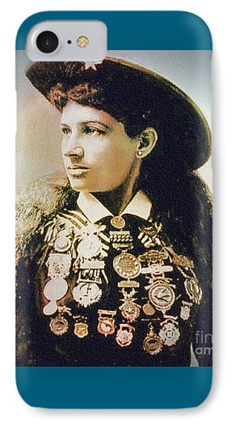 Annie Oakley - Shooting Legend IPhone Case
