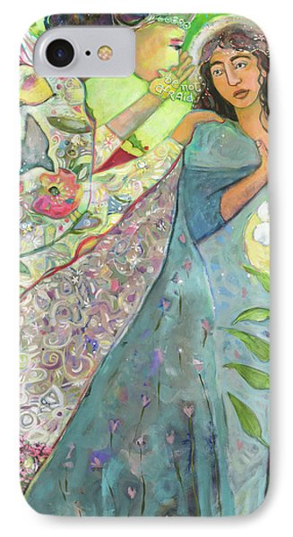 Annunciation IPhone Case by Jen Norton