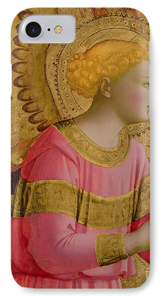 Annunciatory Angel IPhone Case by Fra Angelico