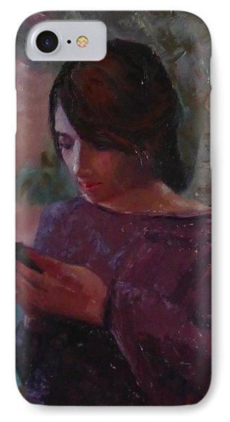 Anoesis Phone Case by Irena Jablonski