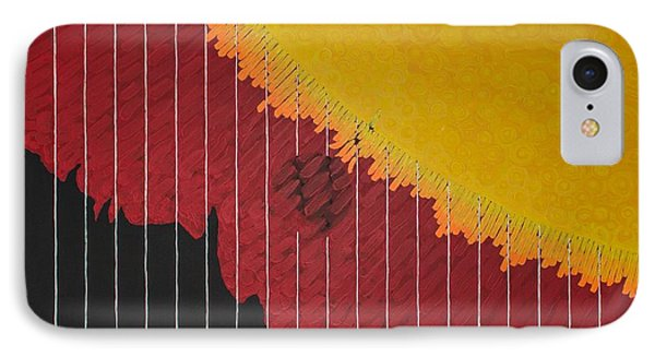Anomaly At The Sun IPhone Case
