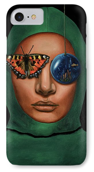 Anonymous 3 IPhone Case by Leah Saulnier The Painting Maniac