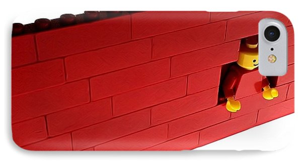 Another Brick In The Wall IPhone Case by Mark Fuller