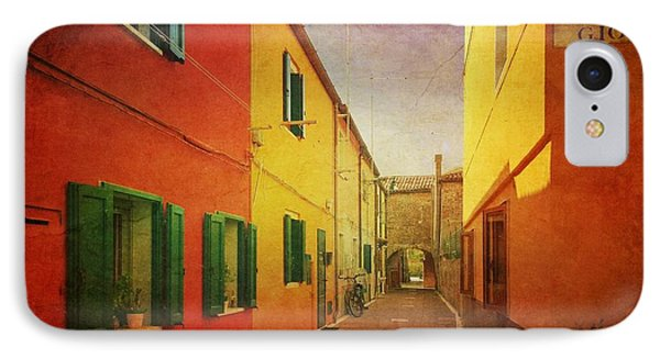 IPhone Case featuring the photograph Another Morning In Malamocco by Anne Kotan