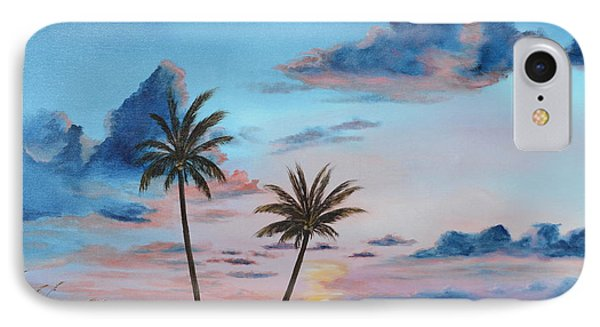 Another Paradise Sunset IPhone Case by Lloyd Dobson