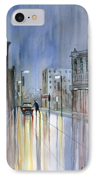 Another Rainy Night IPhone Case by Ryan Radke