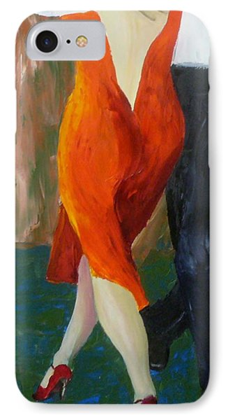 Another Tango Twirl IPhone Case