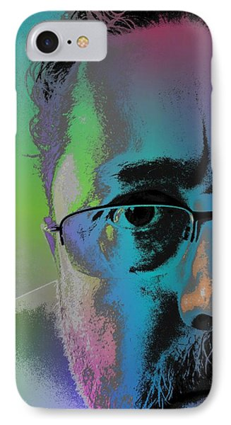 IPhone Case featuring the digital art Anothercolor by Jeff Iverson