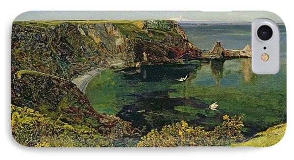 Anstey's Cove In Devon IPhone Case
