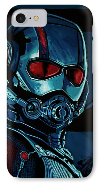 Ant Man Painting IPhone 7 Case