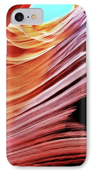 IPhone Case featuring the photograph Antelope Canyon by Lorella Schoales