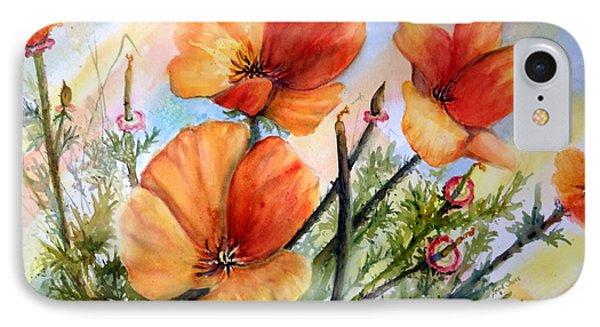 Antelope Valley Poppy Fields IPhone Case