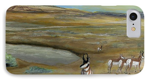 Antelopes IPhone Case
