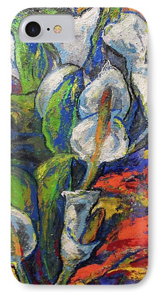 Anthuriums IPhone Case by Koro Arandia