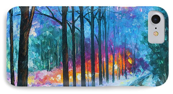 Anticipation Of Spring  Phone Case by Leonid Afremov