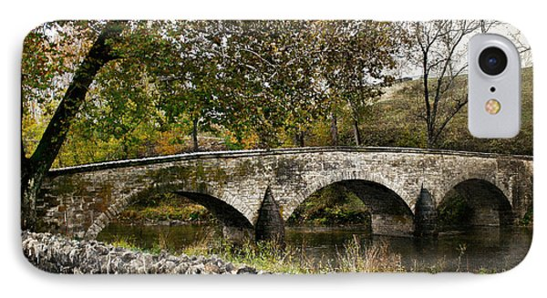 Burnside's Bridge Over Antietam Creek IPhone Case