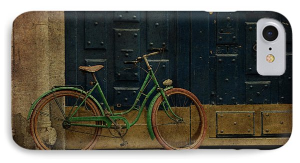Antique Bicycle 1c IPhone Case by Andrew Fare