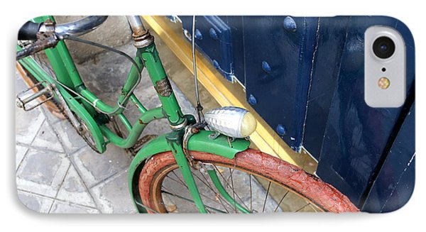 Antique Bicycle 2 IPhone Case by Andrew Fare