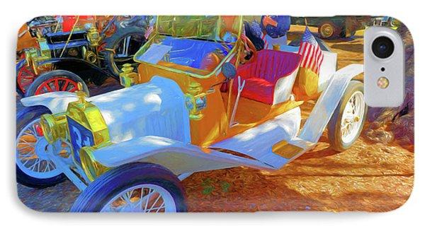 Antique Car At Vero Beach Car Show IPhone Case by Charles Haaland