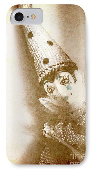 Antique Carnival Doll IPhone Case by Jorgo Photography - Wall Art Gallery