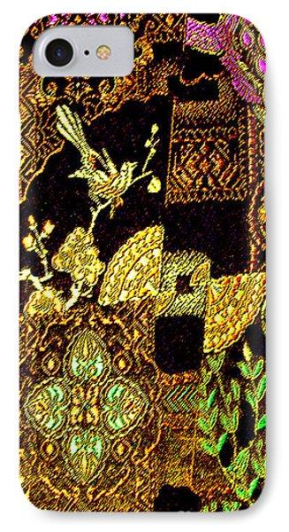 Antique Chinese Fine-thread Art No. 2 IPhone Case by Merton Allen