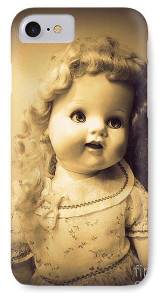 Antique Dolly IPhone Case by Susan Lafleur