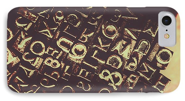 Antique Enigma Code IPhone Case by Jorgo Photography - Wall Art Gallery