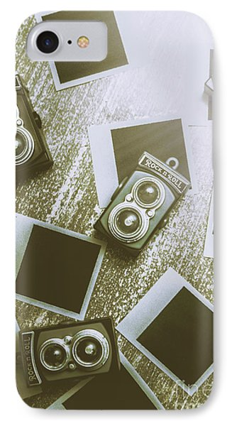 Antique Film Photography Fun IPhone Case by Jorgo Photography - Wall Art Gallery