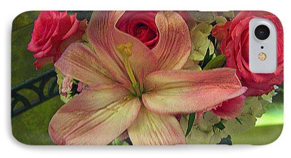 Antique Floral Masterpiece IPhone Case by Merton Allen