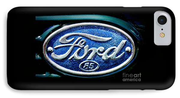 Antique Ford Badge IPhone Case