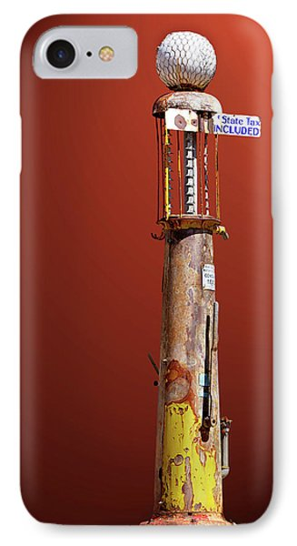 Antique Gas Pump IPhone Case