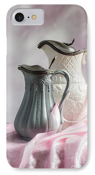 Antique Jugs IPhone Case by Amanda Elwell