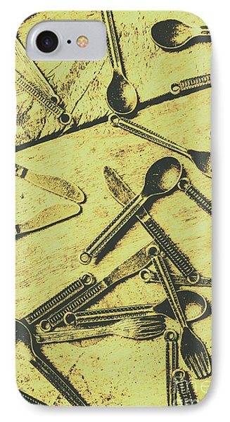 Antique Kitchen Setting IPhone Case by Jorgo Photography - Wall Art Gallery