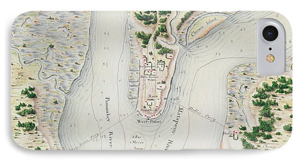 Antique Map Of West Point  Virginia IPhone Case by F Dubourg