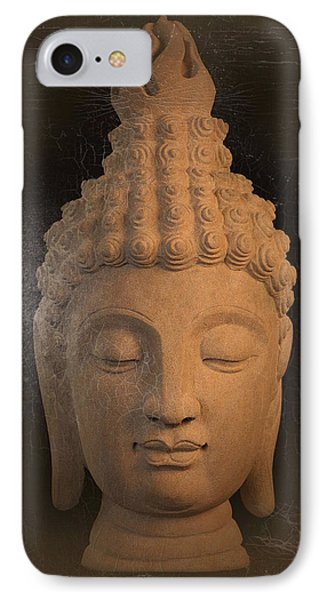 antique oil effect Buddha Sukhothai Phone Case by Terrell Kaucher
