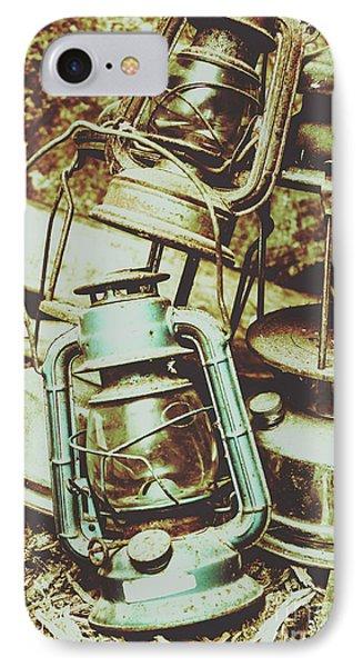 Antique Oil Lantern Fine Art IPhone Case
