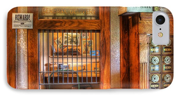 Antique Post Office At The General Store -  Phone Case by Lee Dos Santos