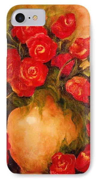 Antique Red Roses IPhone Case