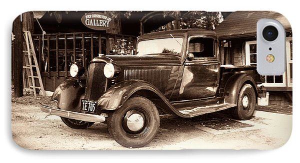 Antique Road Warrior - 1935 Dodge IPhone Case by Glenn McCarthy Art and Photography