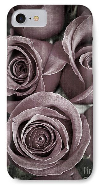 Antique Roses IPhone Case by Edward Fielding