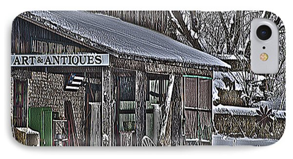 IPhone Case featuring the photograph Antique Shack by Deborah Klubertanz