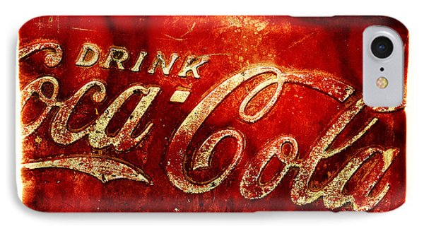 Antique Soda Cooler 2a IPhone Case by Stephen Anderson