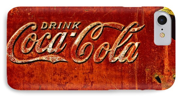 Antique Soda Cooler 3 IPhone Case by Stephen Anderson