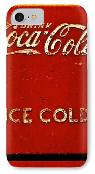 Antique Soda Cooler 6 IPhone Case by Stephen Anderson