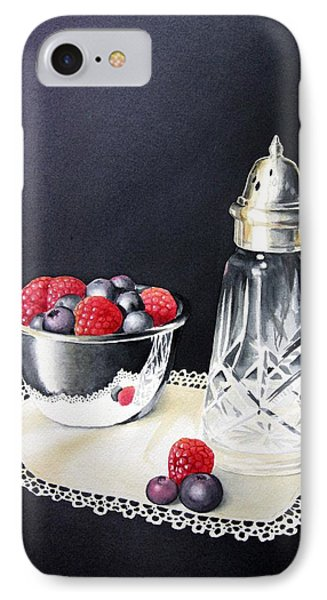 Antique Sugar Shaker IPhone Case by Brenda Brown