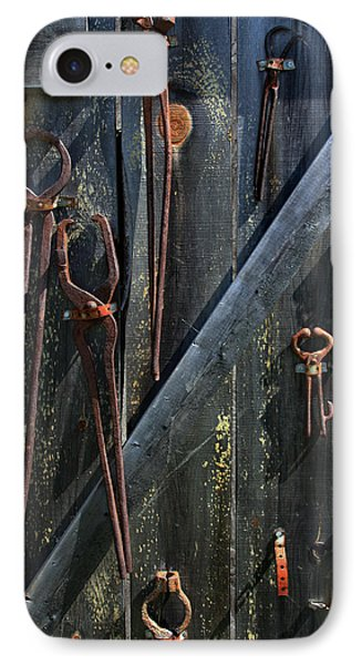 Antique Tools IPhone Case